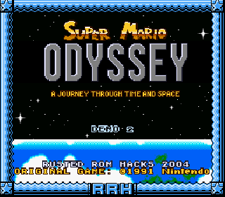 Screenshot Thumbnail / Media File 1 for Super Mario World (USA) [Hack by BMF54123 v0.20] (~Super Mario Odyssey - A Journey Through Time and Space)